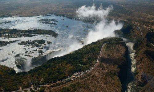 Zdjecie ZIMBABWE / - / Wodospady Wiktorii / Wodospady Wiktorii