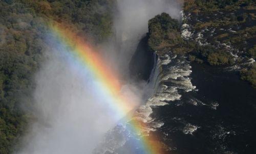Zdjecie ZIMBABWE / - / Wodospady Wiktorii / Wodospady Wikto