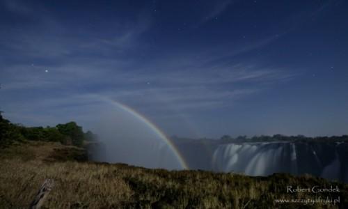 Zdjęcie ZIMBABWE / Mana Pools / Mana Pools / Noc nad wodospadami Wiktorii