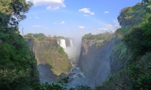 Zdjecie ZIMBABWE / Pół.  zachodnie Zimbabwe / Wodospady Wiktorii / Wodospady Wiktorii