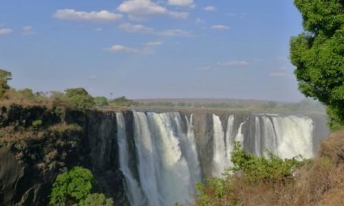 Zdjęcie ZIMBABWE / Pół.  zachodnie Zimbabwe / Wodospady Wiktorii / Wodospady Wiktorii w Zimbabwe