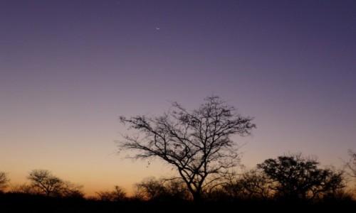 Zdjecie ZIMBABWE / Pół.  zachodnie Zimbabwe / Matobo Hills  / Niebo