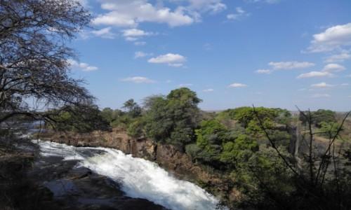 Zdjecie ZIMBABWE / Pół.  zachodnie Zimbabwe / Wodospady Wiktorii / Wodospady Wiktorii jeszcze inaczej