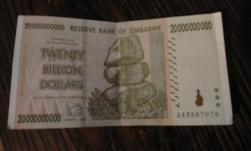 Zdjecie ZIMBABWE / AFRYKA / Zimbabwe / a sami sobie liczcie zera