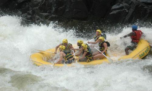 ZIMBABWE / Victoria Falls / Zambezi River / Bliskie spotkania z Zambezi