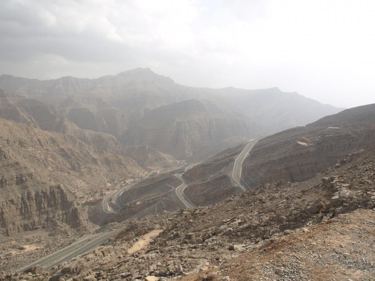 Zdjęcia: góry Al-Hadżar, Ras al-Chajma, góry Al-Hadżar, ZJEDNOCZONE EMIRATY ARABSKIE