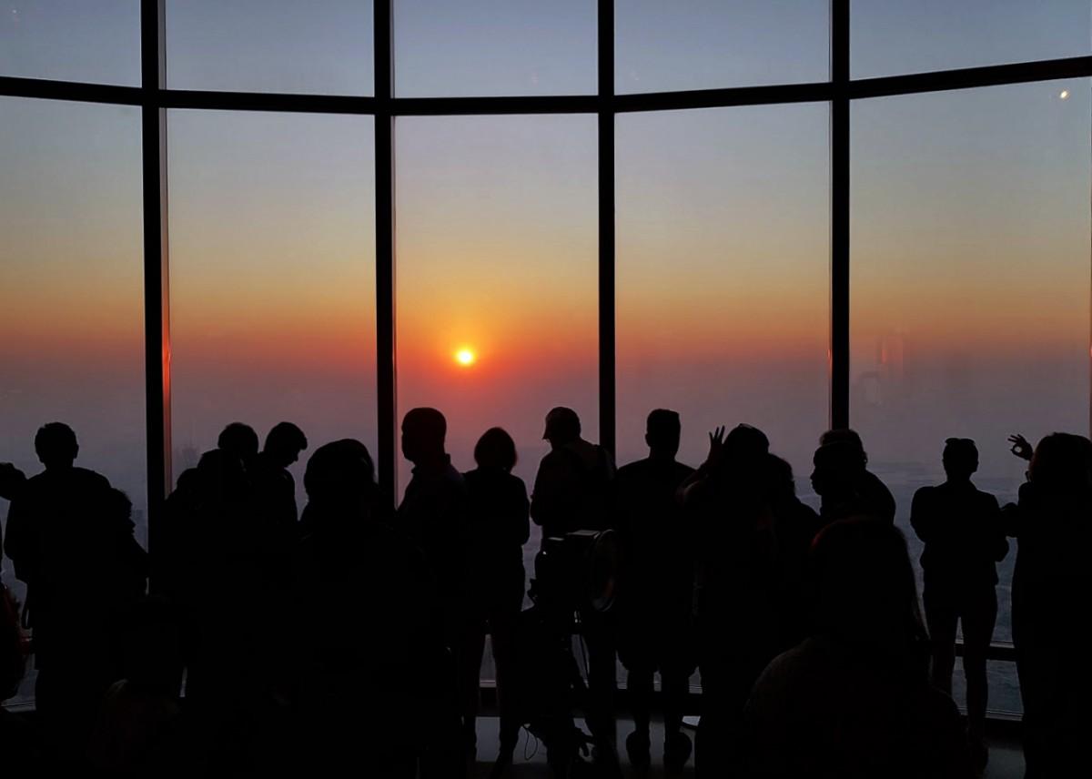 Zdjęcia: Burj Khalifa, Dubaj, Na dachu świata, ZJEDNOCZONE EMIRATY ARABSKIE