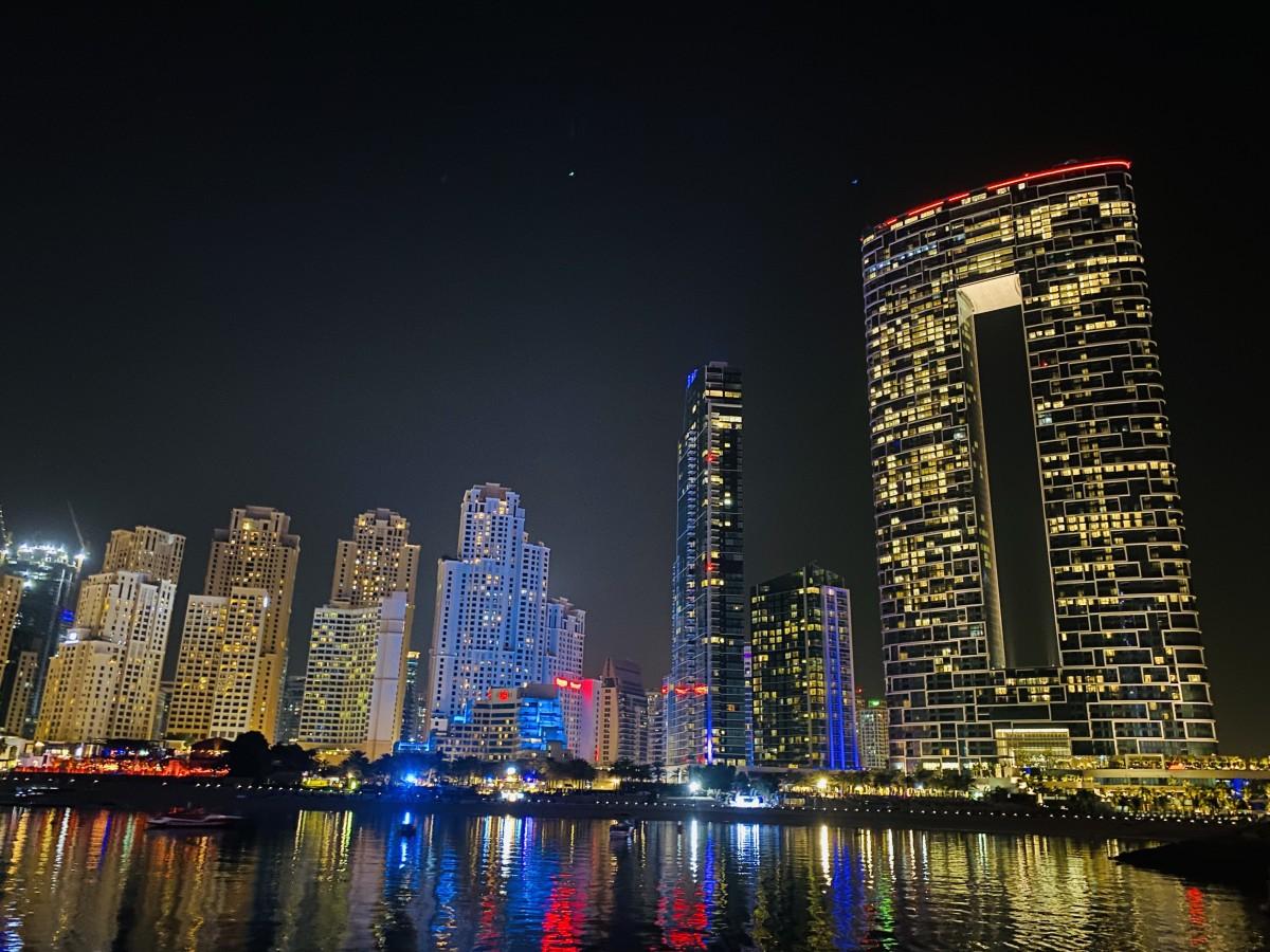 Zdjęcia: Dubaj , Przepiękny Dubai nocą , ZJEDNOCZONE EMIRATY ARABSKIE