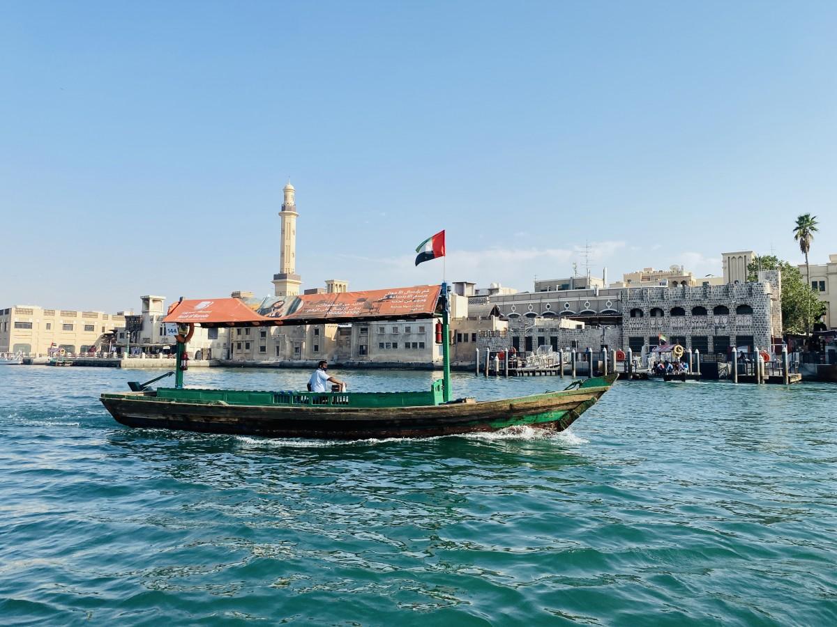Zdjęcia: Dubaj , Rejs po rzece Stary Dubaj, ZJEDNOCZONE EMIRATY ARABSKIE