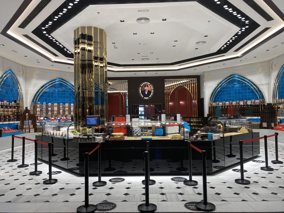 Zdjęcia: Dubai Mall , Arabskie sklep ze słodyczami , ZJEDNOCZONE EMIRATY ARABSKIE