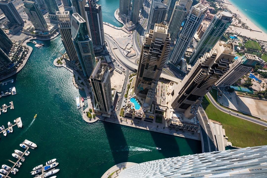 Zdjęcia: ---, ---, Dubaj z lotu ptaka, ZJEDNOCZONE EMIRATY ARABSKIE