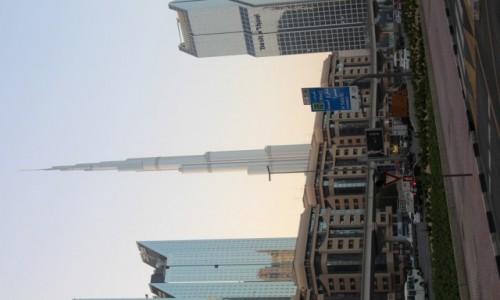 Zdjęcie ZJEDNOCZONE EMIRATY ARABSKIE / Miasto w Zjednoczonych Emiratach Arabskich / Dubaj / Burj Khalifa
