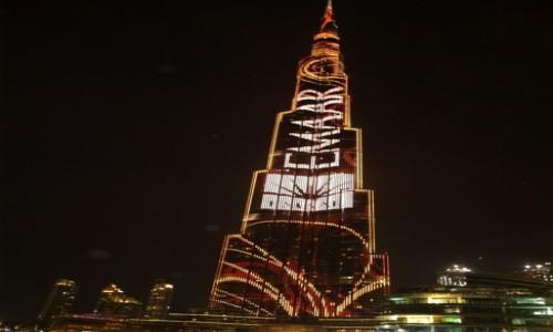 Zdjęcie ZJEDNOCZONE EMIRATY ARABSKIE / Dubaj / Dubaj / Burdż Chalifa