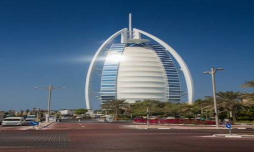 Zdjęcie ZJEDNOCZONE EMIRATY ARABSKIE / Dubai / Dubai / Burj Al Arab Jumeirah
