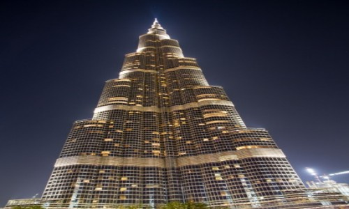 Zdjęcie ZJEDNOCZONE EMIRATY ARABSKIE / Dubai / Dubai / Burdj Khalifa