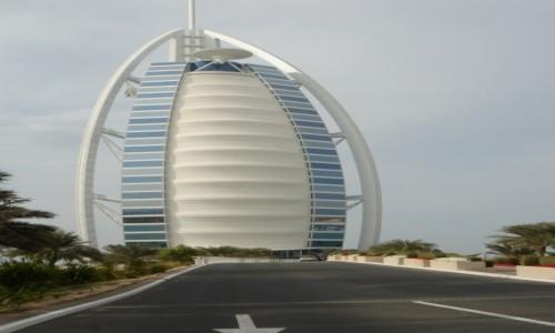 Zdjęcie ZJEDNOCZONE EMIRATY ARABSKIE / - / Burj Al Arab- Dubaj / Burj Al Arab- Dubaj