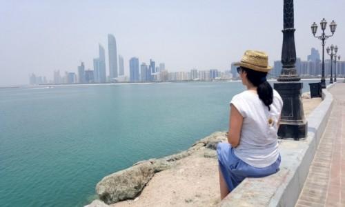 Zdjecie ZJEDNOCZONE EMIRATY ARABSKIE / - / Abu Dhabi / Uwielbiam takie widoki