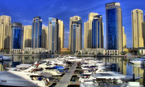ZJEDNOCZONE EMIRATY ARABSKIE / - / Dubaj / Marina