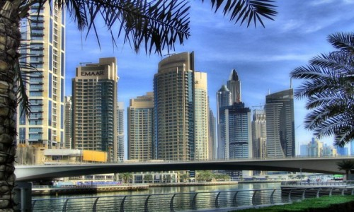Zdjecie ZJEDNOCZONE EMIRATY ARABSKIE / - / Dubaj / Marina