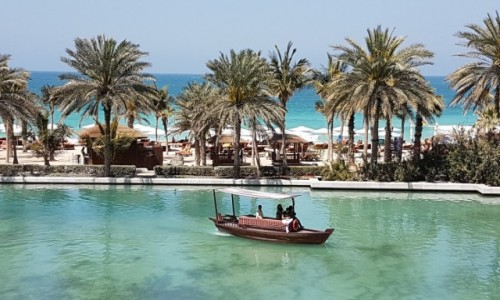Zdjecie ZJEDNOCZONE EMIRATY ARABSKIE / Dubaj / Dubaj / Miłe sercu widoki z tarasu