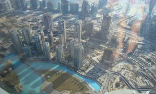 Zdjecie ZJEDNOCZONE EMIRATY ARABSKIE / Azja / Dubaj / wieża Burj Khalifa
