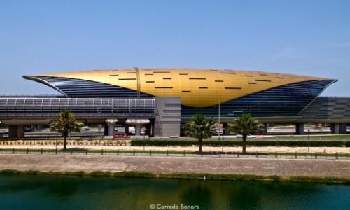Zdjecie ZJEDNOCZONE EMIRATY ARABSKIE / Azja / Dubaj / Dubaj - Stacja Metra