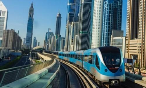 ZJEDNOCZONE EMIRATY ARABSKIE / Azja / Dubaj / Dubaj - wagony metra