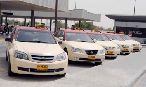 ZJEDNOCZONE EMIRATY ARABSKIE / Azja / Dubaj / Taxi w Dubaju