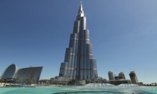 Zdjecie ZJEDNOCZONE EMIRATY ARABSKIE / Azja / Dubaj / Dubaj - Burj Khalifa
