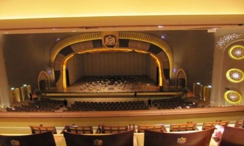 ZJEDNOCZONE EMIRATY ARABSKIE / Emirat Abu Zabi / Abu Zabi / Sala koncertowa w Emirates Palace.