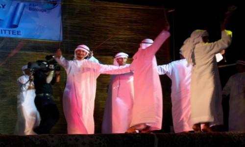 ZJEDNOCZONE EMIRATY ARABSKIE / Emirat Abu Zabi / Ruwais / Taniec.