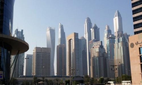 ZJEDNOCZONE EMIRATY ARABSKIE / Emirat Dubaj / Dubaj / Dubaj JLM i Marina