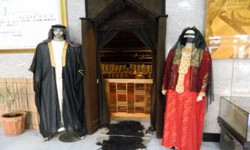ZJEDNOCZONE EMIRATY ARABSKIE / Emirat Dubaj / Dubaj / Tradycyjny ubior slubny.