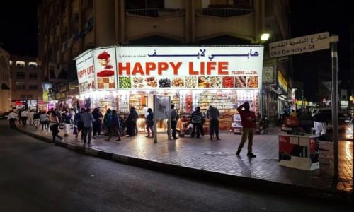 Zdjecie ZJEDNOCZONE EMIRATY ARABSKIE / Dubaj / Stara dzielnica / Happy