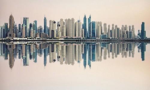 Zdjecie ZJEDNOCZONE EMIRATY ARABSKIE / Dubaj / Dubaj / Świt