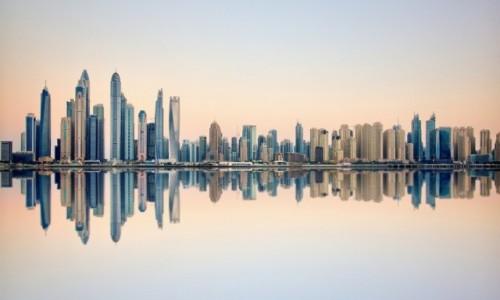 Zdjecie ZJEDNOCZONE EMIRATY ARABSKIE / Dubaj / Dubaj / Dubaj-świt