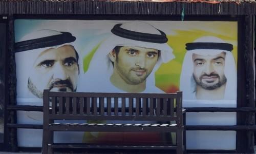 Zdjecie ZJEDNOCZONE EMIRATY ARABSKIE / Dubaj / Dubaj / Władcy Emiratów