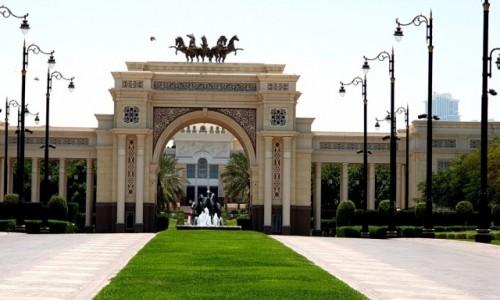 Zdjecie ZJEDNOCZONE EMIRATY ARABSKIE / Dubaj / Dubaj / Pałac szejka Muhammada