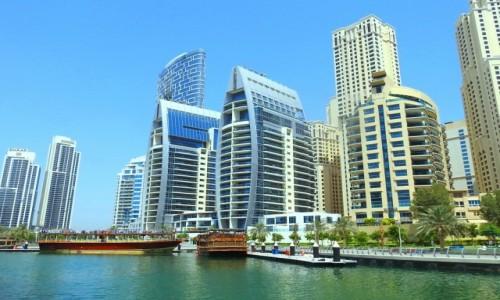 ZJEDNOCZONE EMIRATY ARABSKIE / Dubaj / Dubaj / Osiedle Marina