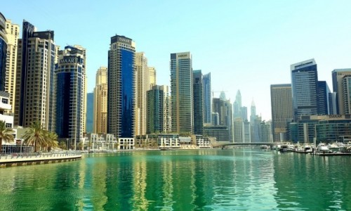 Zdjecie ZJEDNOCZONE EMIRATY ARABSKIE / Dubaj / Dubaj / Marina