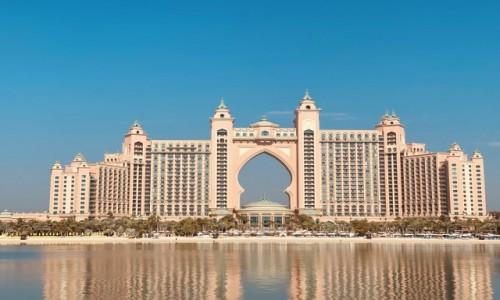 ZJEDNOCZONE EMIRATY ARABSKIE / Dubaj  / Palma Jumeirah / Hotel Atlantis the Palm