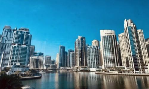 Zdjęcie ZJEDNOCZONE EMIRATY ARABSKIE / Dubaj  / Marina Dubaj / Marina Dubaj