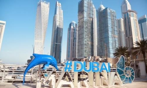 Zdjecie ZJEDNOCZONE EMIRATY ARABSKIE / Dubaj  / Dubaj Marina  / Dubaj Marina