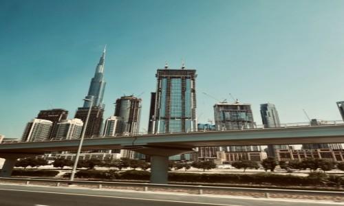 Zdjecie ZJEDNOCZONE EMIRATY ARABSKIE / Dubaj  / Dubaj  / Dubajskie wieżowce