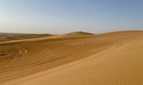 Zdjecie ZJEDNOCZONE EMIRATY ARABSKIE / - / Dubaj  / Dubaj pustynia