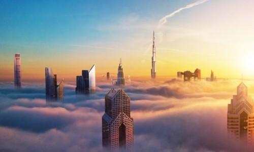 Zdjecie ZJEDNOCZONE EMIRATY ARABSKIE / --- / --- / Dubaj drapacze chmur